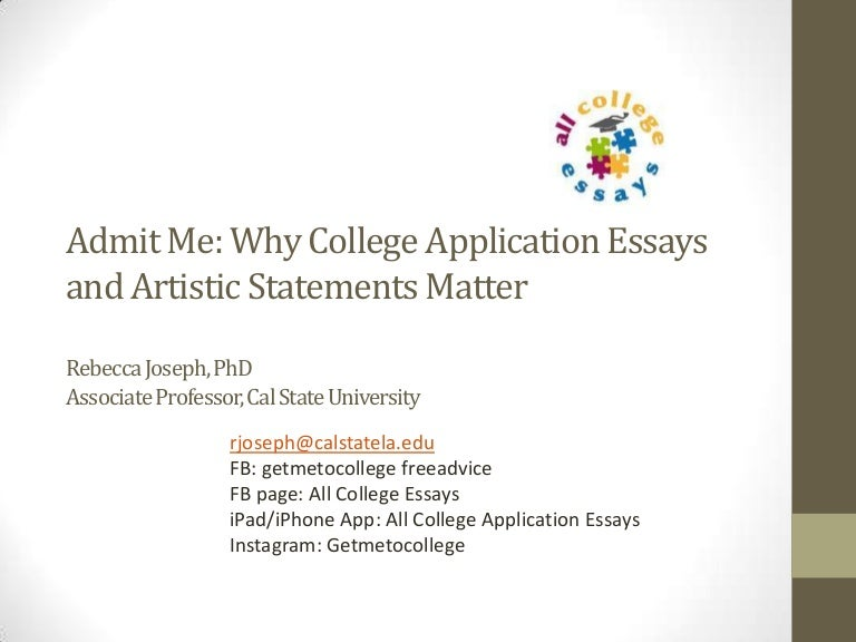 college app essay 2014 See how admitsee compares to other trusted college application websites and resources out there access thousands of successful application examples, sample essays, and admission tips tell your story, your way.