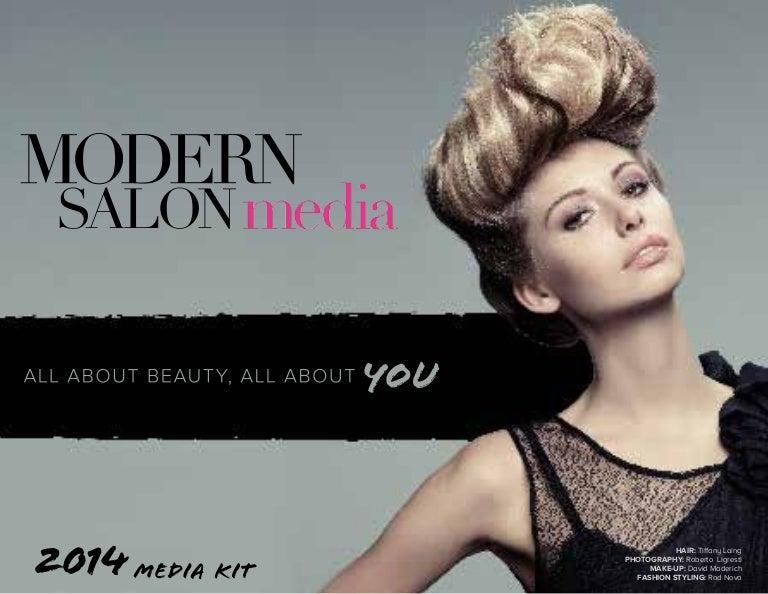 . 2014 Modern Salon media kit