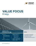 Mercer Capital's Value Focus: Energy Industry | Q3 2014 | Segment:  Alternative Energy