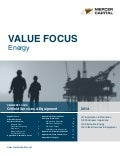 Mercer Capital's Value Focus: Energy Industry | Q4 2014 | Segment: Oilfield Services and Equipment
