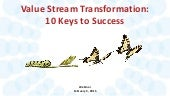Value Stream Transformation: 10 Keys to Success