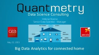 Big Data Analytics for connected home