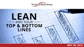Lean and Your Top & Bottom Lines