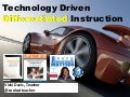 Technology Driven Differentiation