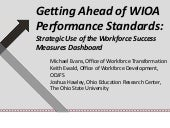 Getting Ahead of WIOA Standards