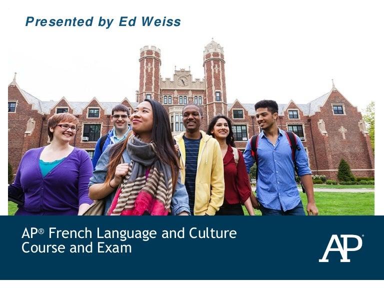 MODL AP French Syllabus      studylib net