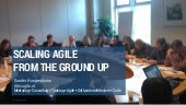 Scaling agile from the ground up