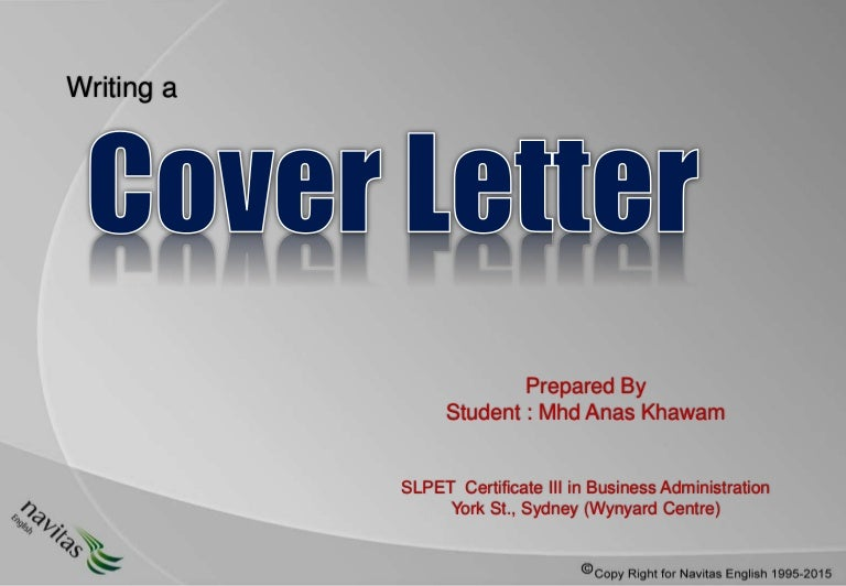 Rules of cover_letter