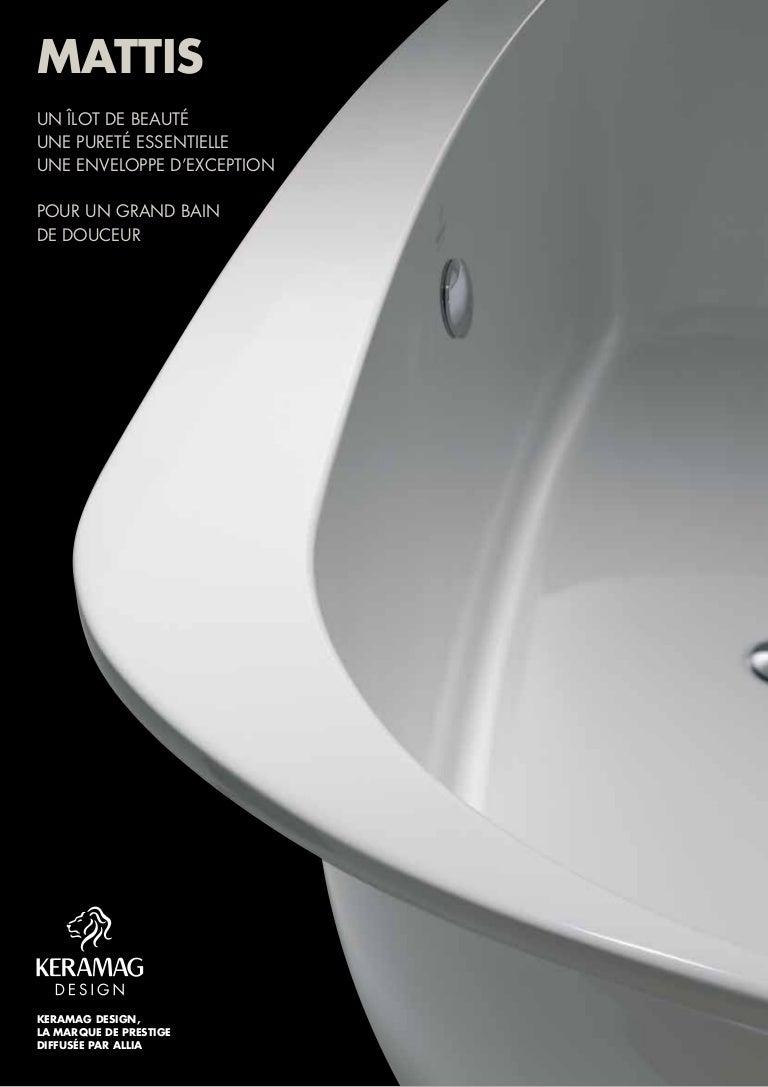 dossier de presse baignoire mattis par allia salle de bains. Black Bedroom Furniture Sets. Home Design Ideas