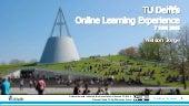 TU Delft's Online Learning Experience @ myMPeL