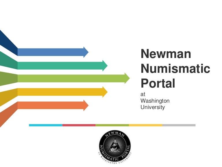 foto de Newman Numismatic Portal Overview - Mar 2015