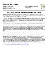 VVTA Board Approves Merger with Barstow Area Transit