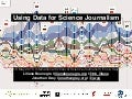 Using Data for Science Journalism