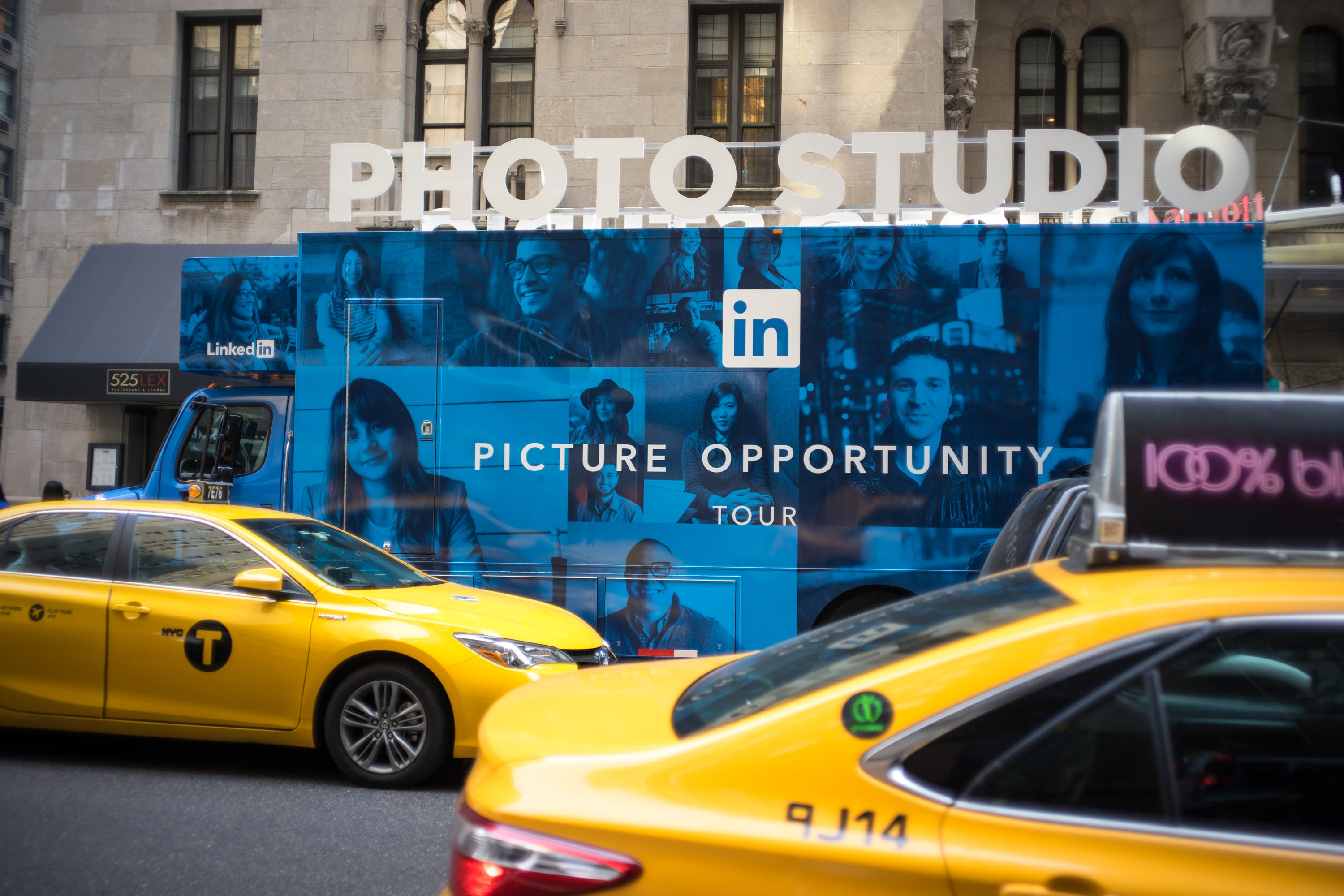 LinkedIn Picture Opportunity Tour Visits New York City