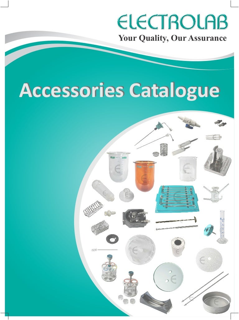 Electrolab accessories catalogue