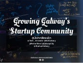 Growing Galway's Startup Community
