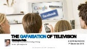 The GAFAisation of Television