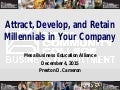 Attracting Millennials to Your Company