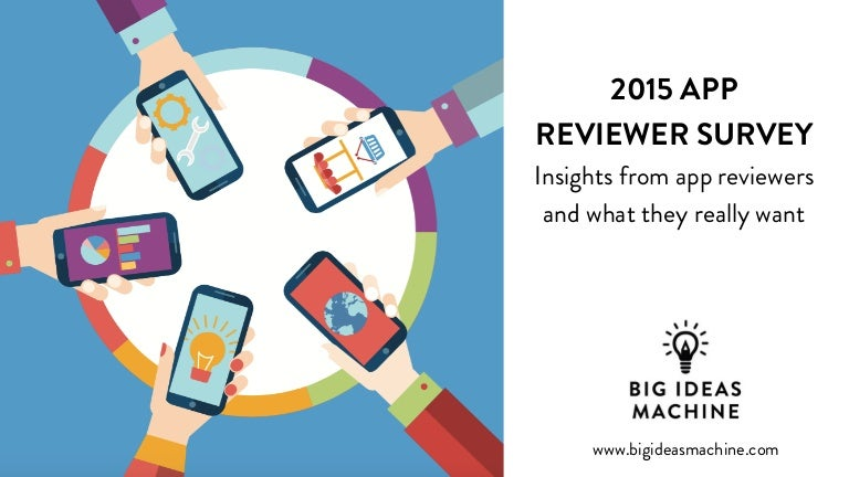 2015 App Reviewer Survey The Secrets Of How To Get Your App Reviewed