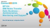 ConnectED 2015 - IBM Notes Traveler Daily Business