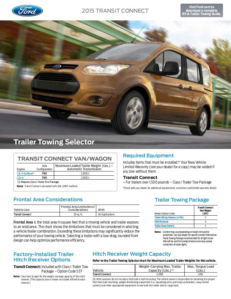 2015fordtransitconnecttowingcapacityinformation bloomingtonfordaforddealershipforindianapolisgreenwo 150328132352 conversion gate01 thumbnail 4?cb=1427553035 2015 ford transit connect towing capacity information bloomington for Trailer Hitch Connector at cos-gaming.co
