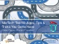MarTech Top 10: Apps, Tips & Tricks You Gotta Have