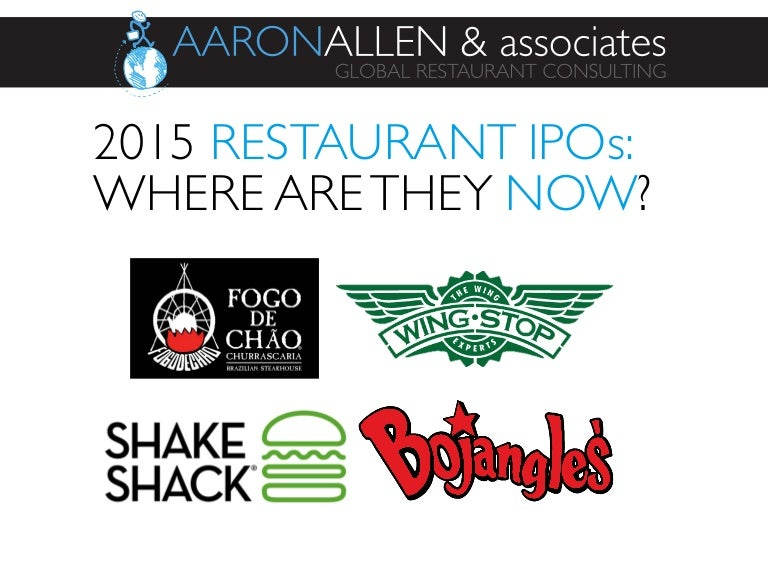 2015 restaurant ipos where are they now - Shaker Restaurant 2015