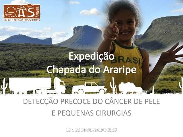 Relatório S.A.S. brasil 2015 - câncer - chapada do Araripe