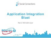 SOCCNX 2015 - Application Integration Blast