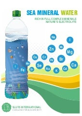 Drink Concept: Sea Mineral Water