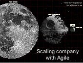 Scaling company with Agile