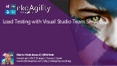 Cloud load testing with Visual Studio Team Services