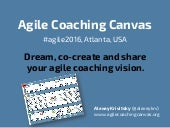 Agile Coaching Canvas at #agile2016