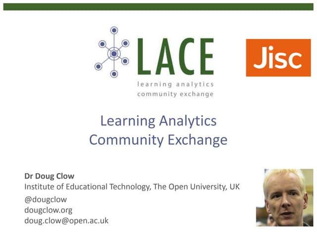 Learning Analytics Community Exchange