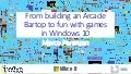 From building an Arcade Bartop to fun with games in Windows 10