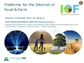 Platforms for the Internet of Food & Farm