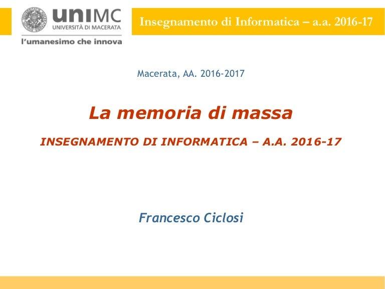 a3d324b7d99 MODULO IB04 –  La memoria di massa