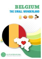 Belgium: The Small Wonderland
