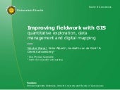 Improving fieldwork with GIS (EGU 2016_