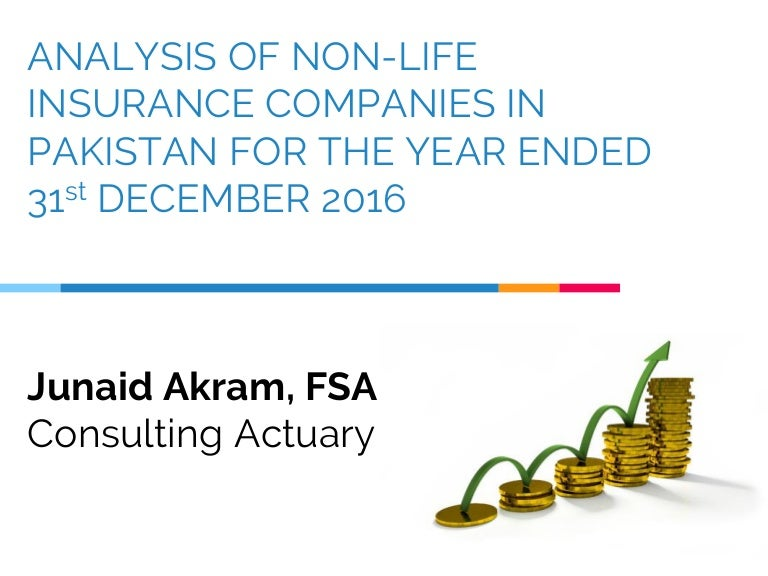 Non-Life Insurance Companies Analysis, Pakistan - December ...