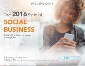 The 2016 State of Social Business