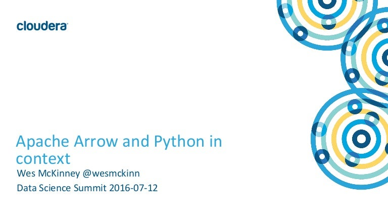Apache Arrow and Python: The latest