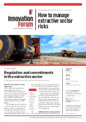 How to manage extractive sector risks
