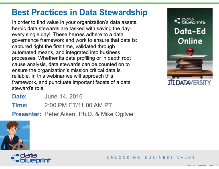 Data ed slides best practices in data stewardship technical malvernweather Choice Image