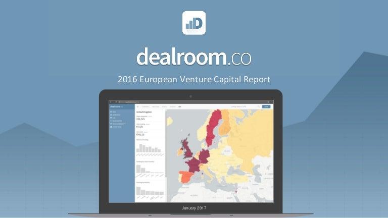 ce1b8603 Dealroom 2016 European venture capital report