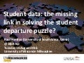 Student data: the missing link in solving the student departure puzzle?