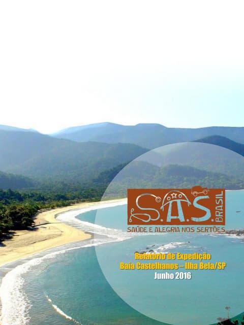 Relatório 2016 - Expedição S.A.S. Brasil Castelhanos 4