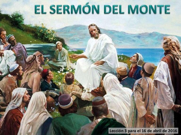 Lección 3 | El Sermón del Monte | Escuela Sabática Power Point | Segu…