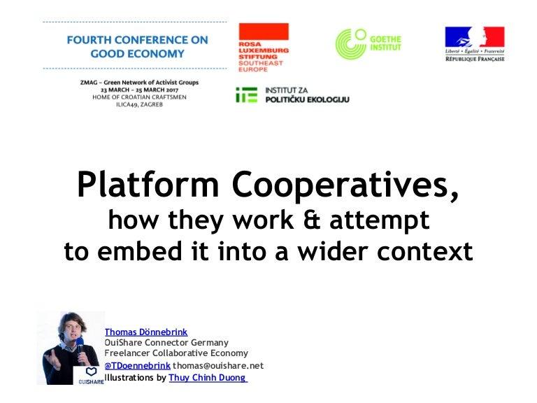 PlatformCoops: Wider Context & Focus on UBER Predators