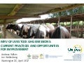 MRV of livestock GHG emissions: Current practices and opportunities for improvement